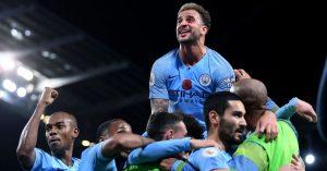 Manchester derbisine City damga vurdu