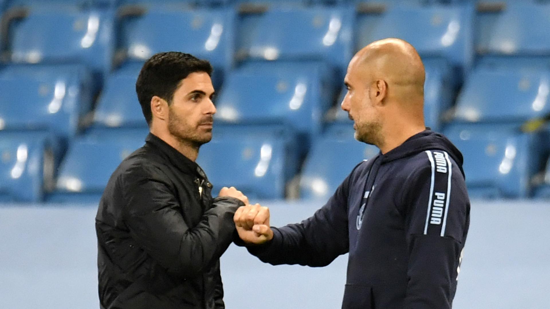 """Guardiola: """"Arteta'ya ilham kaynağı olmadım"""""""